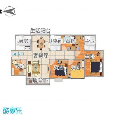 三亚同心家园-平面方案-1