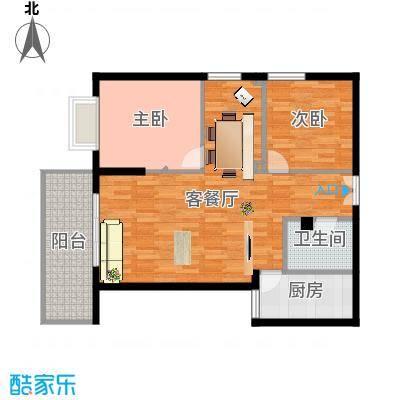 三号楼89方3号户型三室两厅final-副本