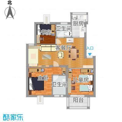 漾河公寓3室2卫2厅 - 副本-副本