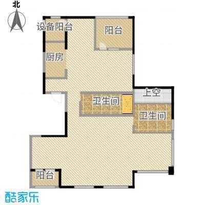 银马公寓208.86㎡户型
