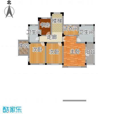 汀香别墅二期396.02㎡4栋二层户型4室2卫