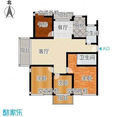 东海未名园153.00㎡户型4室1厅2卫
