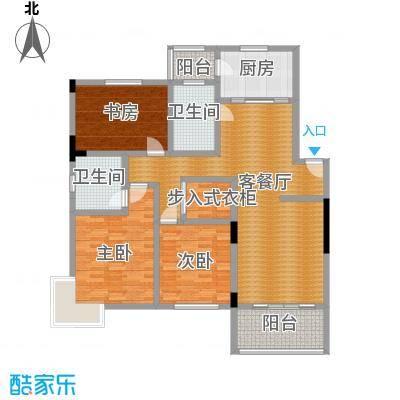 晨光绿苑130.00㎡户型3室1厅2卫1厨