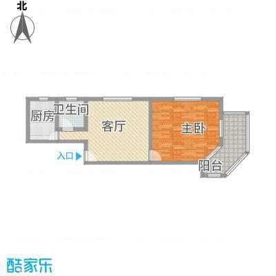 益民公寓83.71㎡益民公寓1室1厅1卫1厨户型1室1厅1卫1厨