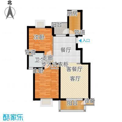 书香银苑5.00㎡A户型2室2厅1卫1厨