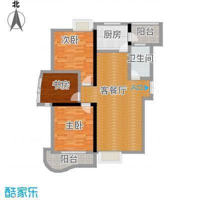 天元2005126.94㎡户型3室1厅1卫1厨