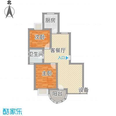 宝林春天苑申江远景92.21㎡上海宝林春天苑户型2室2厅1卫1厨