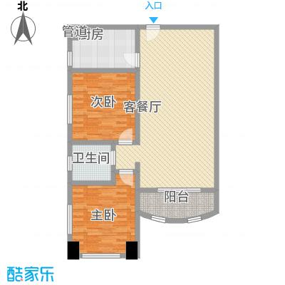 静安国际广场公寓114.70㎡静安国际广场公寓114.70㎡2室2厅1卫1厨户型2室2厅1卫1厨