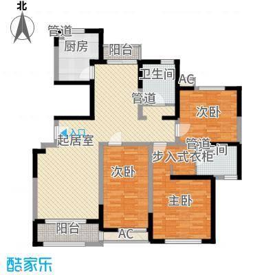 中星海上景庭145.94㎡上海户型3室2厅2卫1厨