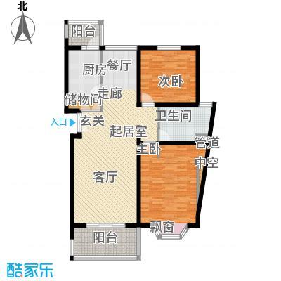 宏润公寓104.70㎡宏润公寓104.70㎡2室2厅1卫1厨户型2室2厅1卫1厨