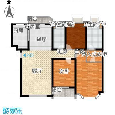 旭辉依云湾别墅142.00㎡户型3室2厅2卫