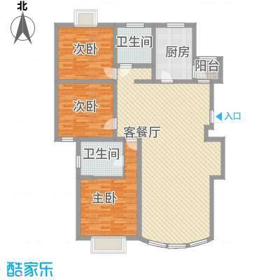 愚园公馆益都愉园157.65㎡上海益都愉园(愚园公馆)户型3室2厅2卫1厨