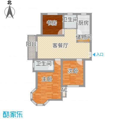奉城商都110.00㎡三房两厅-110平方米-22套户型3室2厅2卫