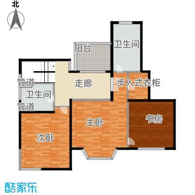 绿地崴廉公寓185.32㎡一期h5a户型3室2厅2卫1厨