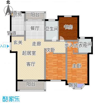 曹路家苑140.08㎡户型3室2厅2卫