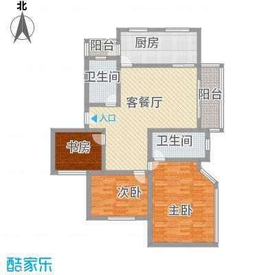 大华阳城四期阳城美景136.00㎡上海大华阳城六期(阳城世家)户型3室2厅2卫1厨