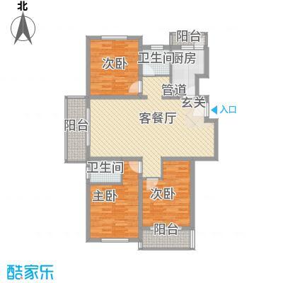 龙柏金铃公寓129.18㎡龙柏金铃公寓129.18㎡3室2厅2卫1厨户型3室2厅2卫1厨