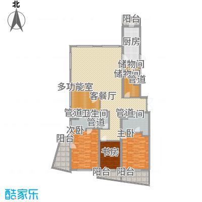 瑞苑公寓250.00㎡四房户型4室2厅3卫