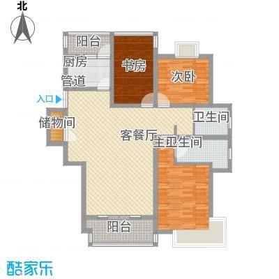 绿洲尧舜公寓147.86㎡绿洲尧舜公寓147.86㎡3室2厅1卫1厨户型3室2厅1卫1厨