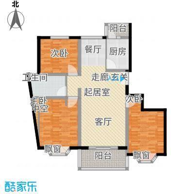 宏润公寓123.35㎡宏润公寓123.35㎡3室2厅1卫1厨户型3室2厅1卫1厨