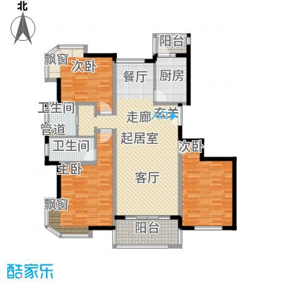 宏润公寓132.60㎡宏润公寓132.60㎡3室2厅2卫1厨户型3室2厅2卫1厨
