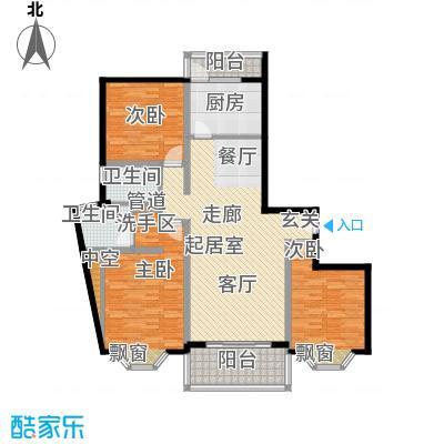宏润公寓137.03㎡宏润公寓137.03㎡3室2厅2卫1厨户型3室2厅2卫1厨