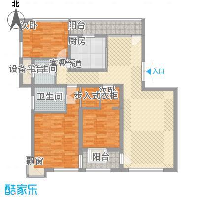 大唐盛世花园142.40㎡大唐盛世花园142.40㎡3室2厅2卫1厨户型3室2厅2卫1厨
