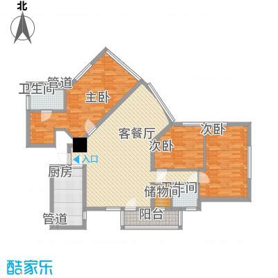 龙珠公寓142.06㎡龙珠公寓142.06㎡3室2厅2卫1厨户型3室2厅2卫1厨