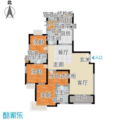 远雄徐汇园183.74㎡D02户型3房2厅4卫183.74㎡户型3室2厅4卫1厨