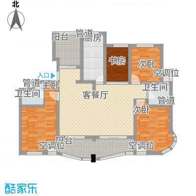 荣域飘鹰锦和花园144.00㎡E1户型3室2厅2卫1厨