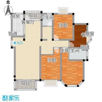 澳洲国际148.56㎡E户型4室2厅2卫