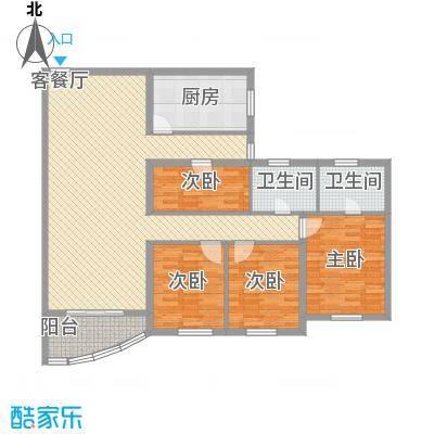 兴联大厦146.97㎡兴联大厦146.97㎡4室2厅2卫1厨户型4室2厅2卫1厨