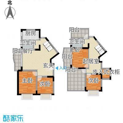 大华水韵华庭181.60㎡上海户型4室2厅2卫1厨