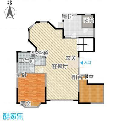 浦江公馆286.34㎡复式户型5室2厅3卫