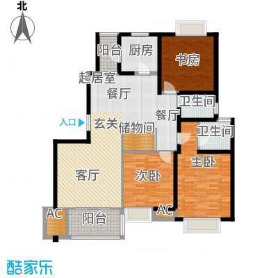 大华阳城五期阳城书院132.00㎡3室2厅2卫1厨
