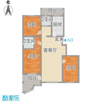 金汇鸿锦苑138.00㎡3室2厅1卫1厨
