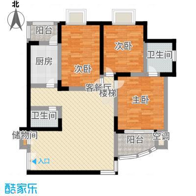 欣安基公寓114.91㎡3室1厅2卫1厨