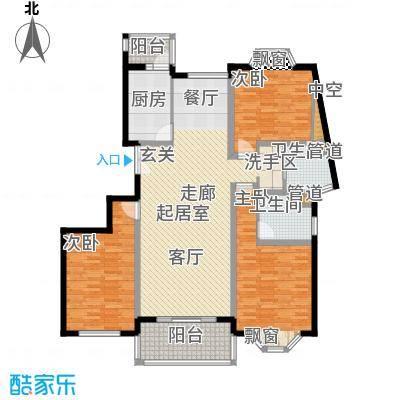 宏润公寓132.91㎡宏润公寓132.91㎡3室2厅2卫1厨户型3室2厅2卫1厨
