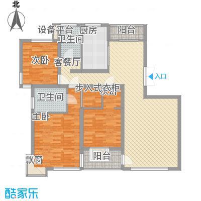 大唐盛世花园141.59㎡大唐盛世花园141.59㎡3室2厅2卫1厨户型3室2厅2卫1厨