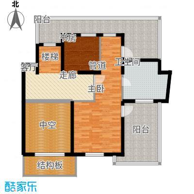 万源城乐斯生活会馆239.00㎡b1y二层户型4室3厅3卫