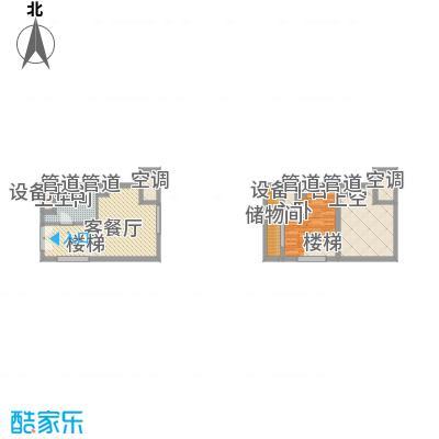 21#综合楼E户型