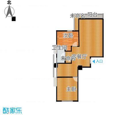 泰地北上新城33.00㎡3#-8#楼E-2户型2室1厅1卫