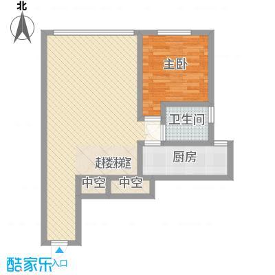 合生时代帝景92.00㎡C户型首层户型3室1厅2卫1厨