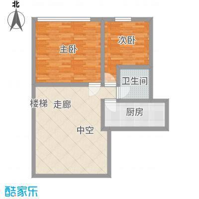 合生时代帝景92.00㎡C户型二层户型3室1厅2卫1厨