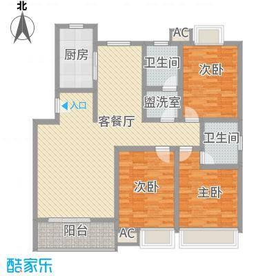 江山大厦143.00㎡江山大厦3室户型3室