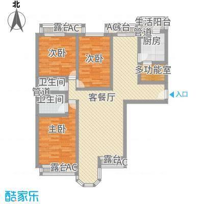 学院路房管局宿舍123.00㎡学院路房管局宿舍3室户型3室