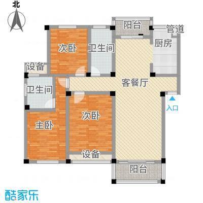 高新二路物业宿舍118.00㎡高新二路物业宿舍3室户型3室