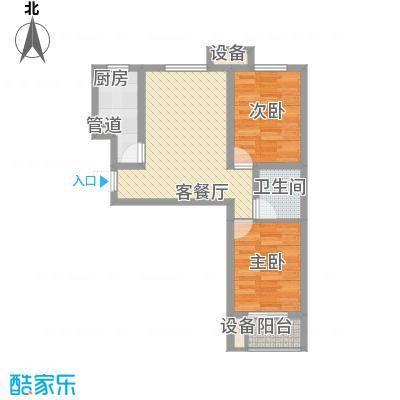 环湖佳苑70.00㎡环湖佳苑70.00㎡2室户型2室