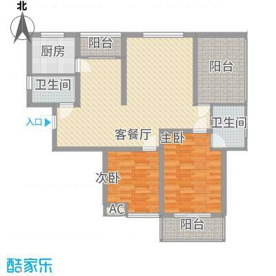 大唐东苑141.00㎡大唐东苑4室户型4室