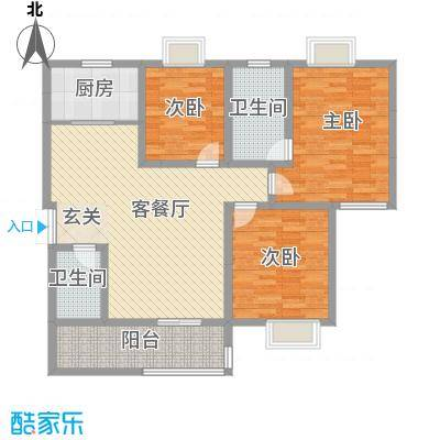 周庄CBH260.00㎡周庄CBH5室户型5室